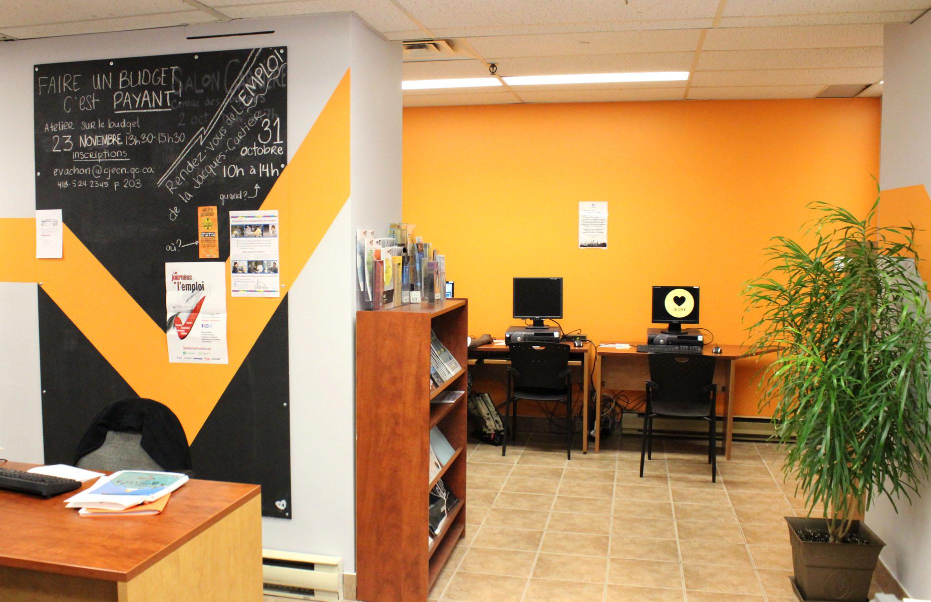 Salle multiservice du Carrefour jeunesse emploi Capitale Nationale